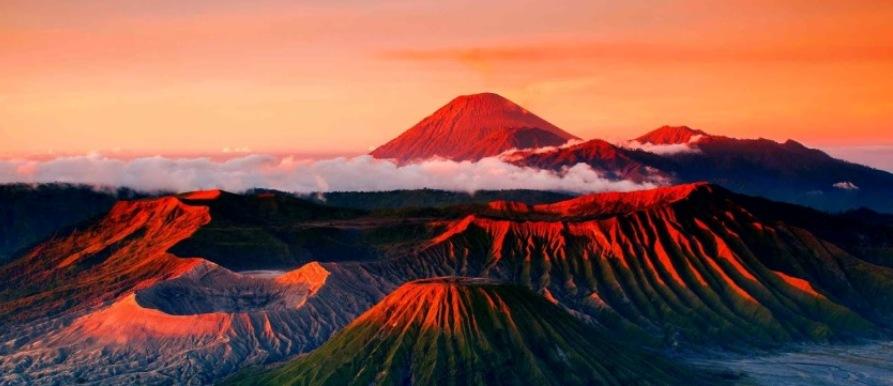 Rondreizen Java_Mount Bromo, active vulkaan op oost Java