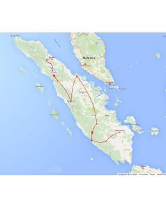 Rondreis Sumatra: Juweeltjes van Sumatra van Medan tot Palembang (21 dagen/ 20 nachten)