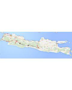 Venture travels Java van Jakarta naar Yogyakarta, escape naar Java 12 dagen routeschema