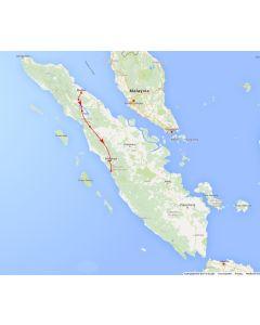 Rondreis Sumatra: Sumatra over land van Medan tot Padang (10 dagen/ 9 nachten)