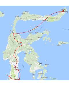 Rondreis Sulawesi: Trans Sulawesi tour  (20 dagen / 19 nachten)