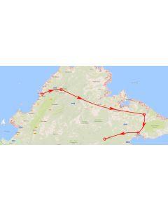 Venture travels rondreis Sabah route