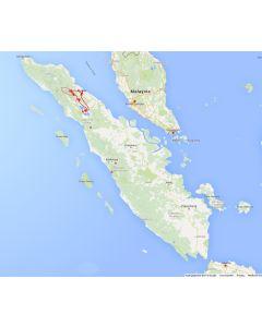 Venture travels Rondreis Sumatra - Medan - Bukit Lawang - trekking - Sibayak vulkaan 12D-11N