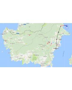 Venture travels rondreis Borneo Kalimantan Derawan eiland en Kakaban - 4D3N route