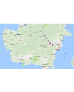 Venture travels Rondreis Kalimantan Mahakam rivier en Long Apari - 14 dagen / 13 nachten route