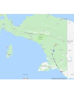 Rondreis Indonesie – Papua Korowai stammen 7 dagen – 6 nachten routekaart
