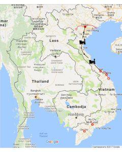 RondreisVietnam: culturele ontdekkingen midden en Noord Vietnam route