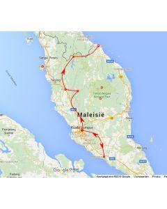Venture Travels rondreis Maleisie oostkurt 7 D reisschema