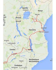 reisschema truck safari Afrika Nairobi naar Victoria Falls 21 dagen