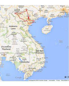 Rondreis Vietnam: Route
