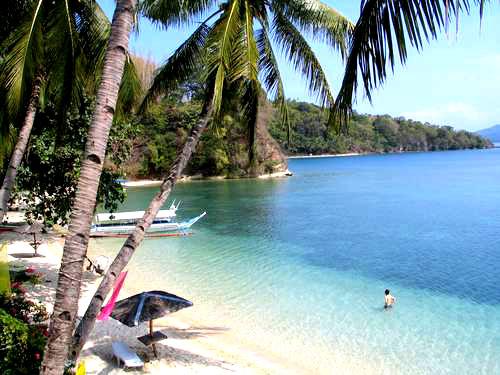 Filippijnen strand en zee