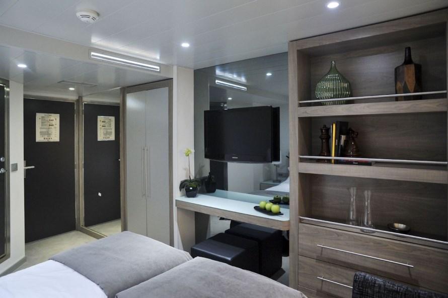 MS Douro Spirit Boven en middel dek cabine met frans balkon2