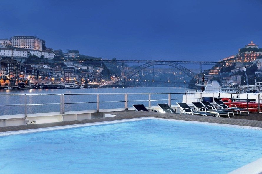 MS Douro Spirit zwembad