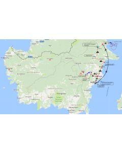 Venture travels Motortocht Oost Kalimantan van Balikpapan naar Berau - 16 dagen – 15 nachten