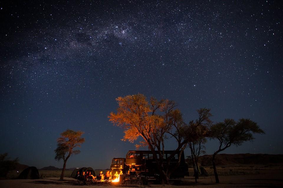 trucksafaris Afrika Nightview